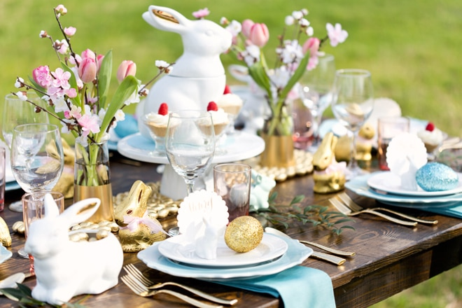Rustic Chic Easter Brunch | Pizzazzerie