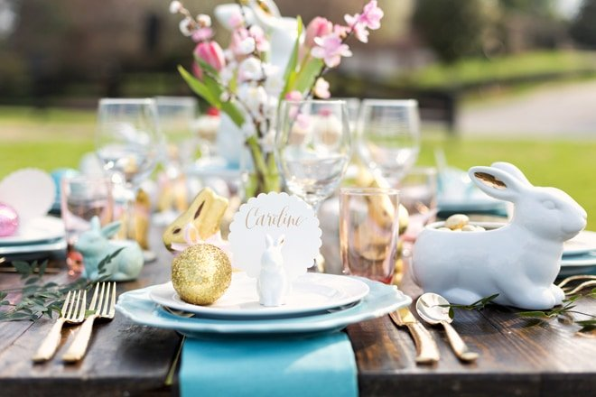 Rustic Chic Easter Brunch