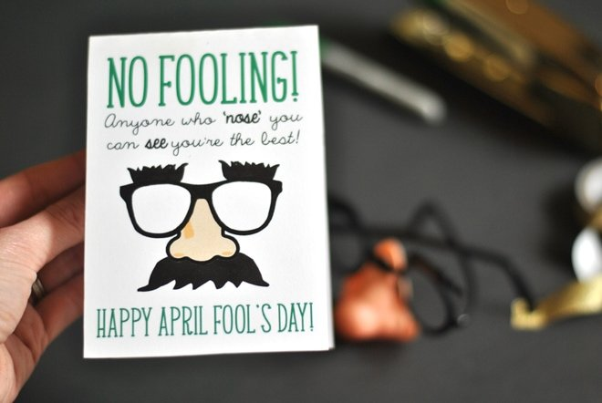 Free April Fool's Day Printable