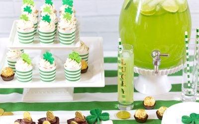 St. Patrick's Day Party Ideas | Pizzazzerie.com