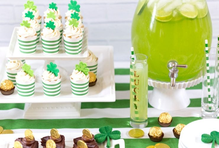 Fun & Cute St. Patrick's Day Party Ideas