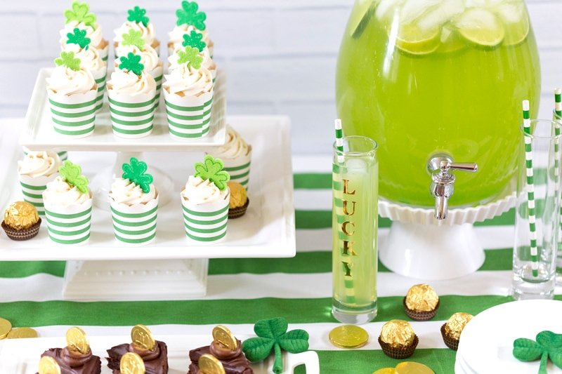 Fun Cute St Patricks Day Party Ideas Pizzazzerie