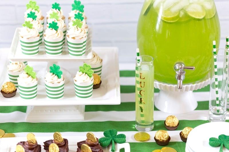 Fun & Cute St. Patrick\'s Day Party Ideas | Pizzazzerie
