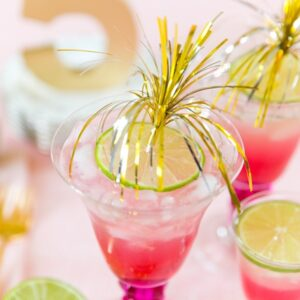 Tickled Pink Cocktail Recipe, Pizzazzerie.com