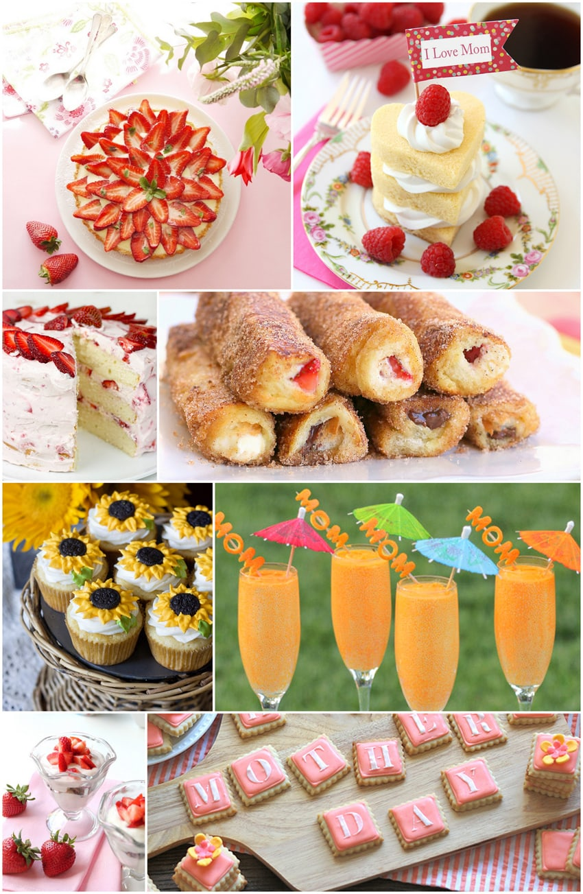 8 Delicious Mother's Day Recipes for Mom!