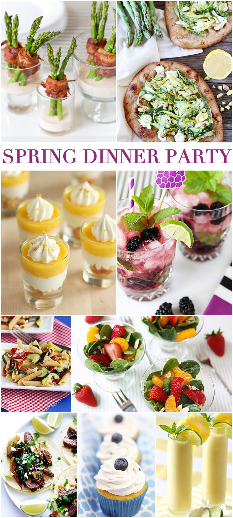 Host A Fabulous Spring Dinner Party Pizzazzerie