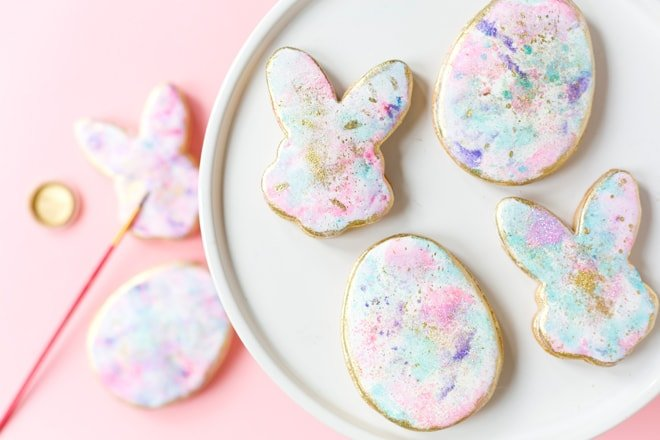 Watercolor Graffiti Cookies {Sweetapolita Bakebook}