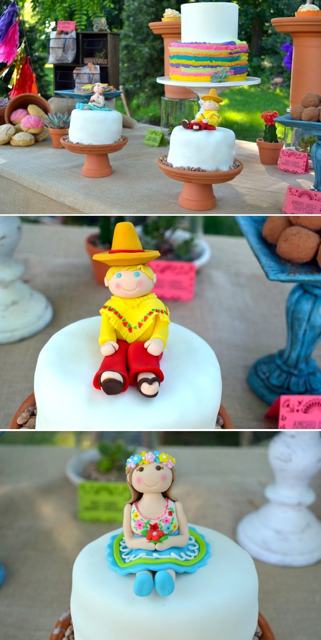 fiesta-twins-birthday-cakes