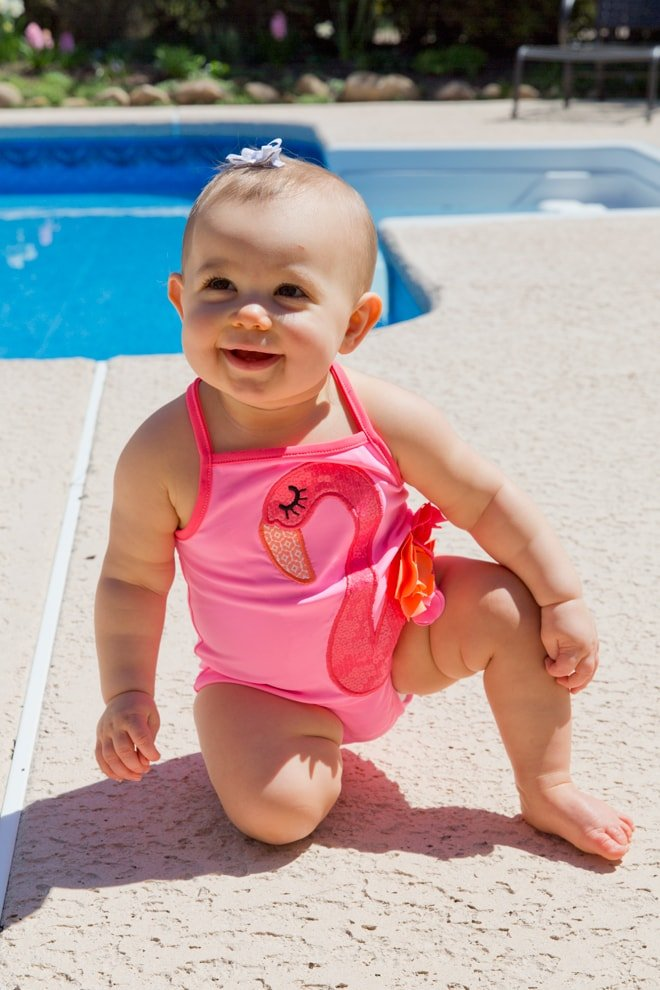 Flamingo Swim Suit