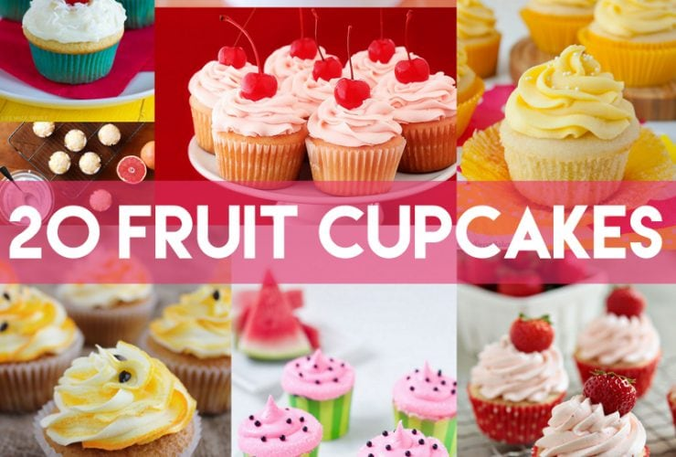 20 Amazing Fruit Cupcakes!