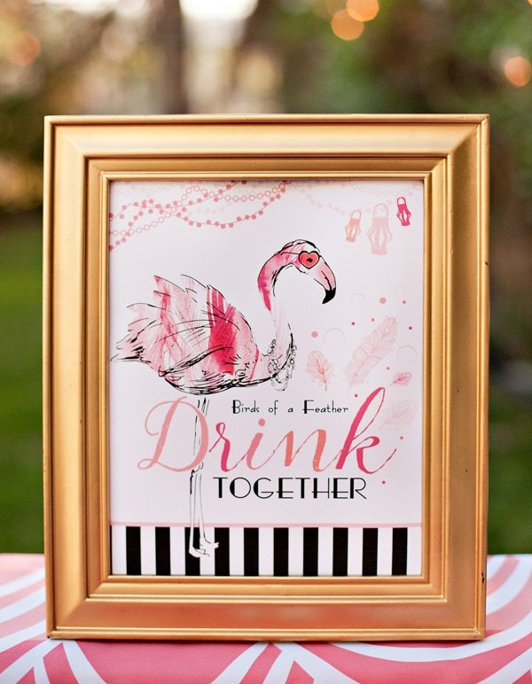 Lets Flamingle Yall Pink Flamingo Party Ideas