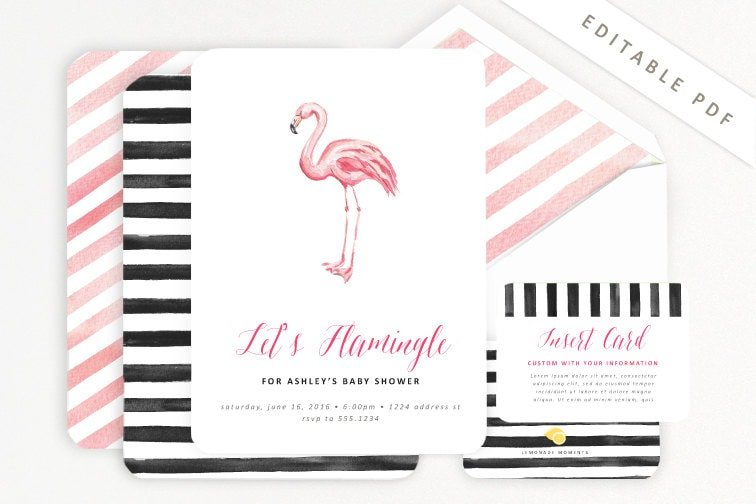 Lets Flamingle Yall Pink Flamingo Party Ideas – Flamingo Party Invitations