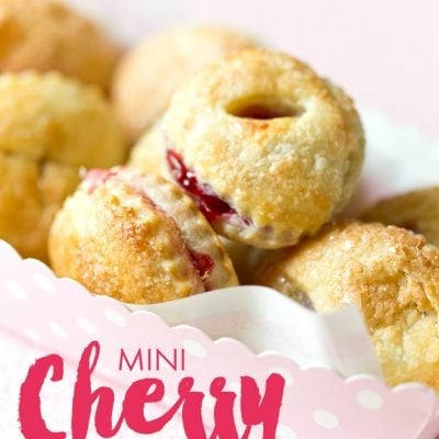 Mini Cherry Turnover Recipe! Easy and delish!