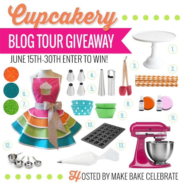 Cupcakery Book Giveaway