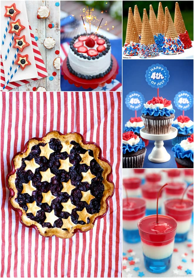 Best 4th of July Desserts to celebrate America!