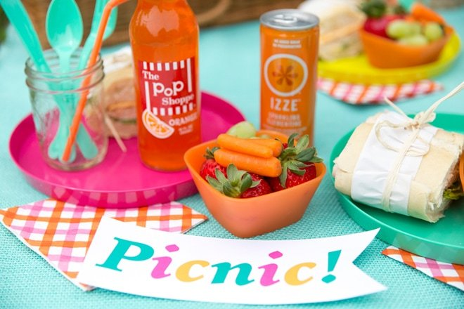 5 Tips for a Bright + Colorful Summer Picnic