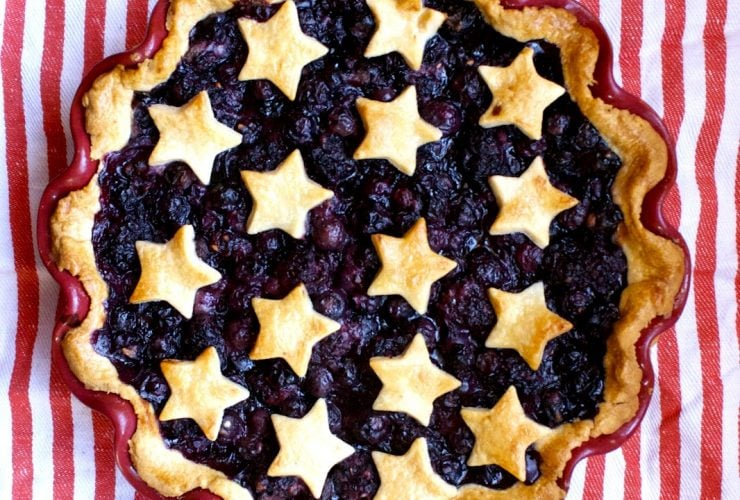 4th of July Star Pie