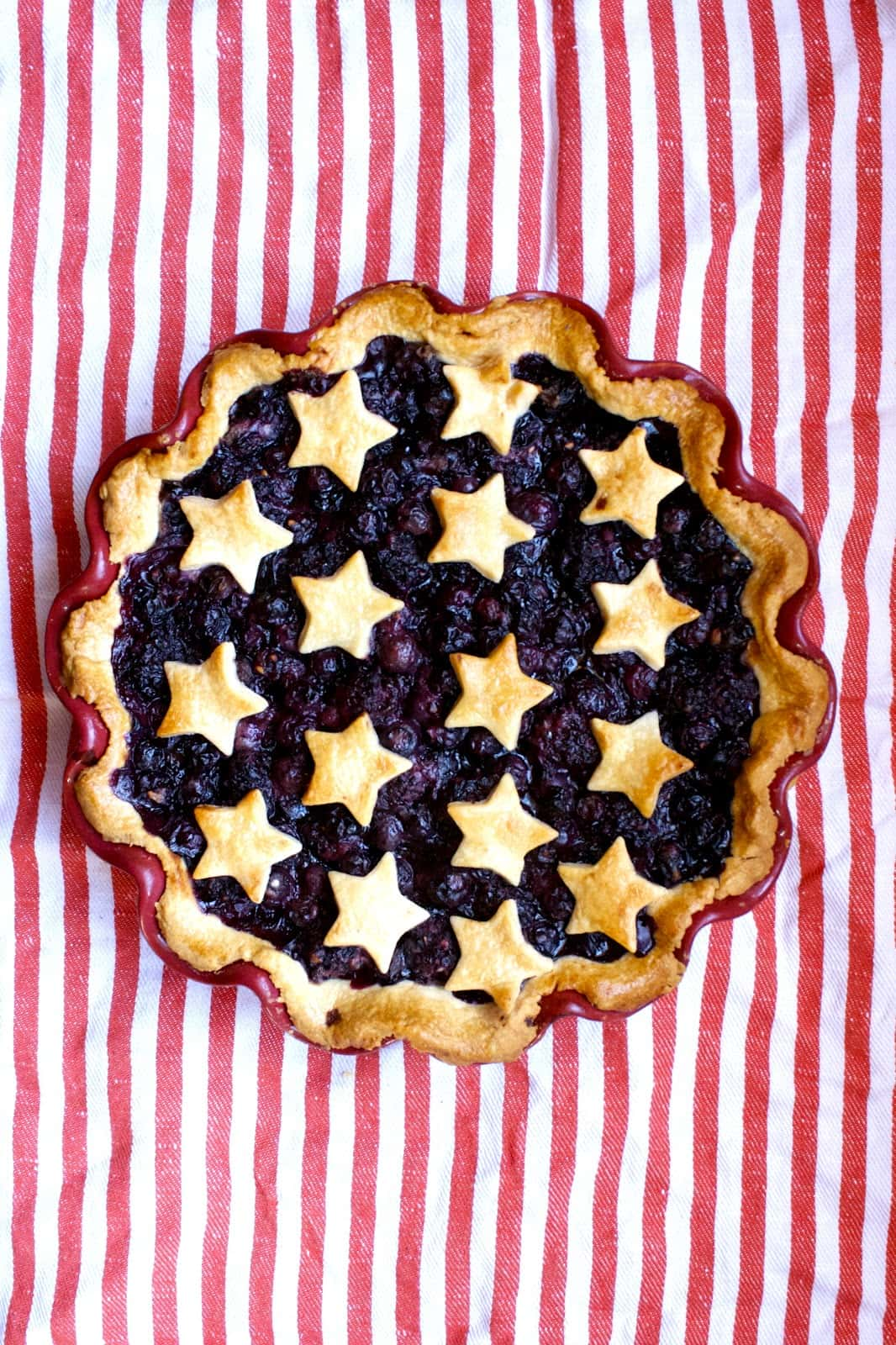 4th of July Dessert Pie