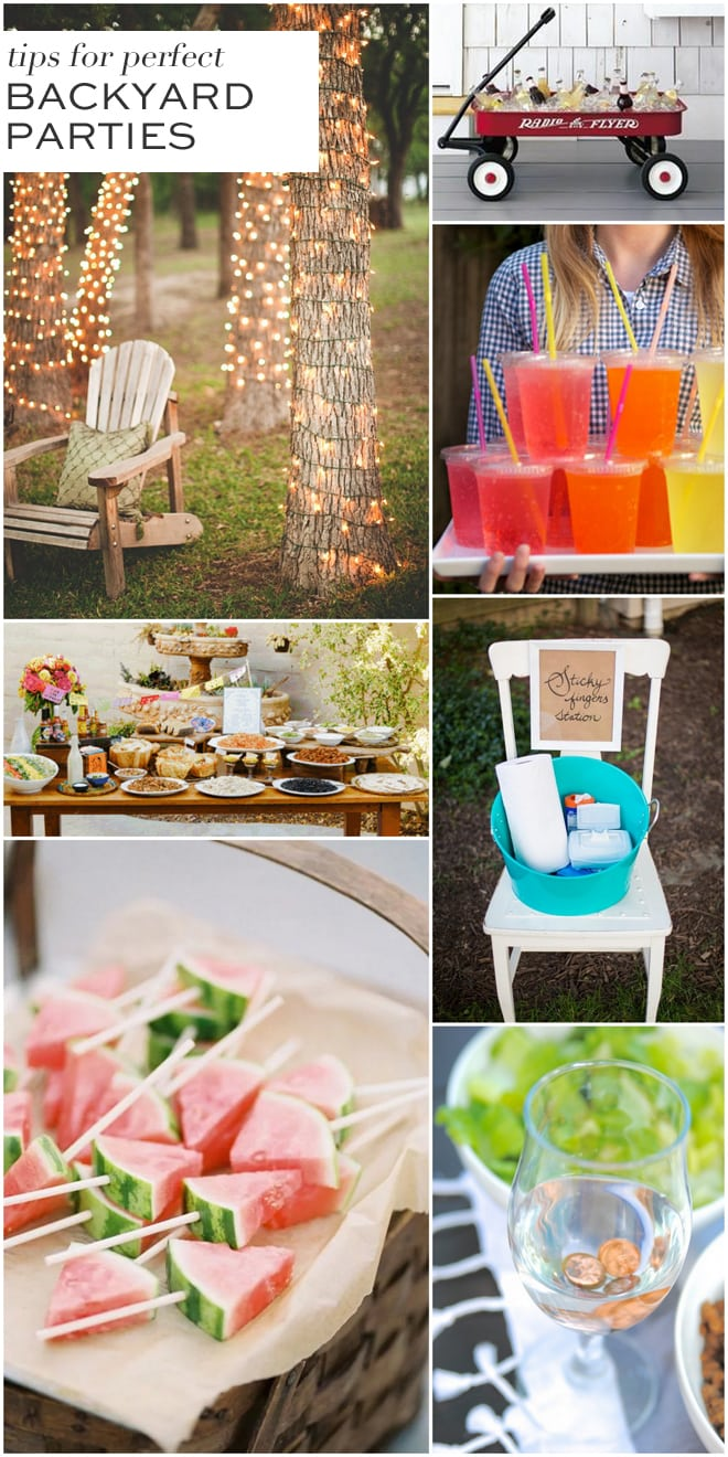 7 Tips for Fabulous Backyard Parties! | Pizzazzerie