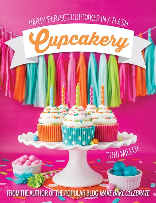 Cupcakery Book by Toni Miller