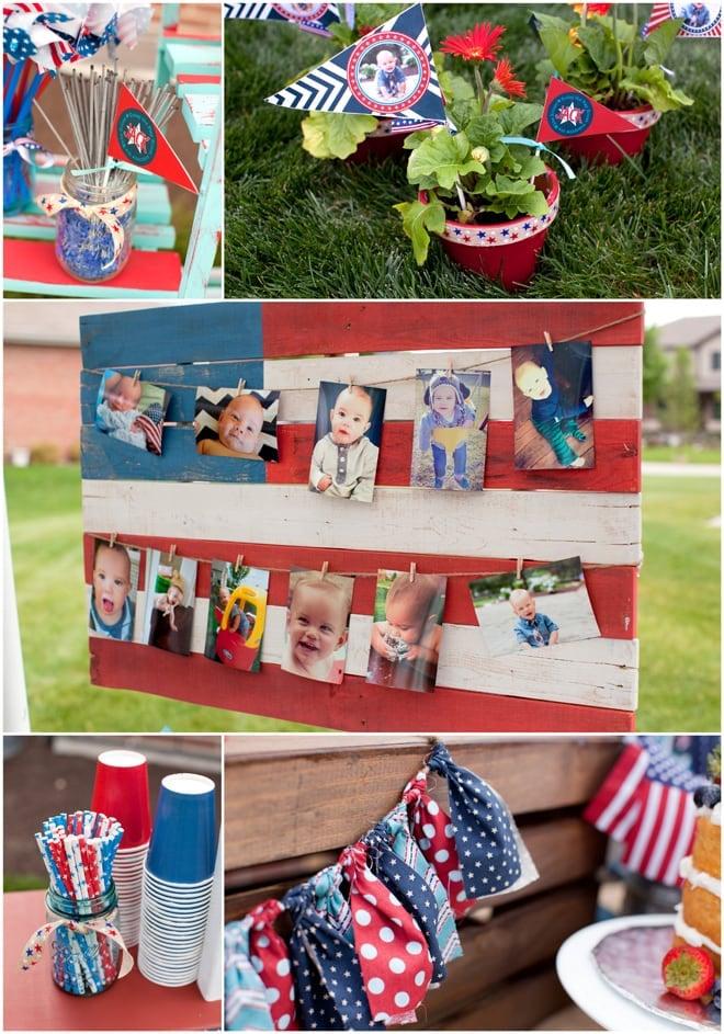 Patriotic Wedding Cake Ideas