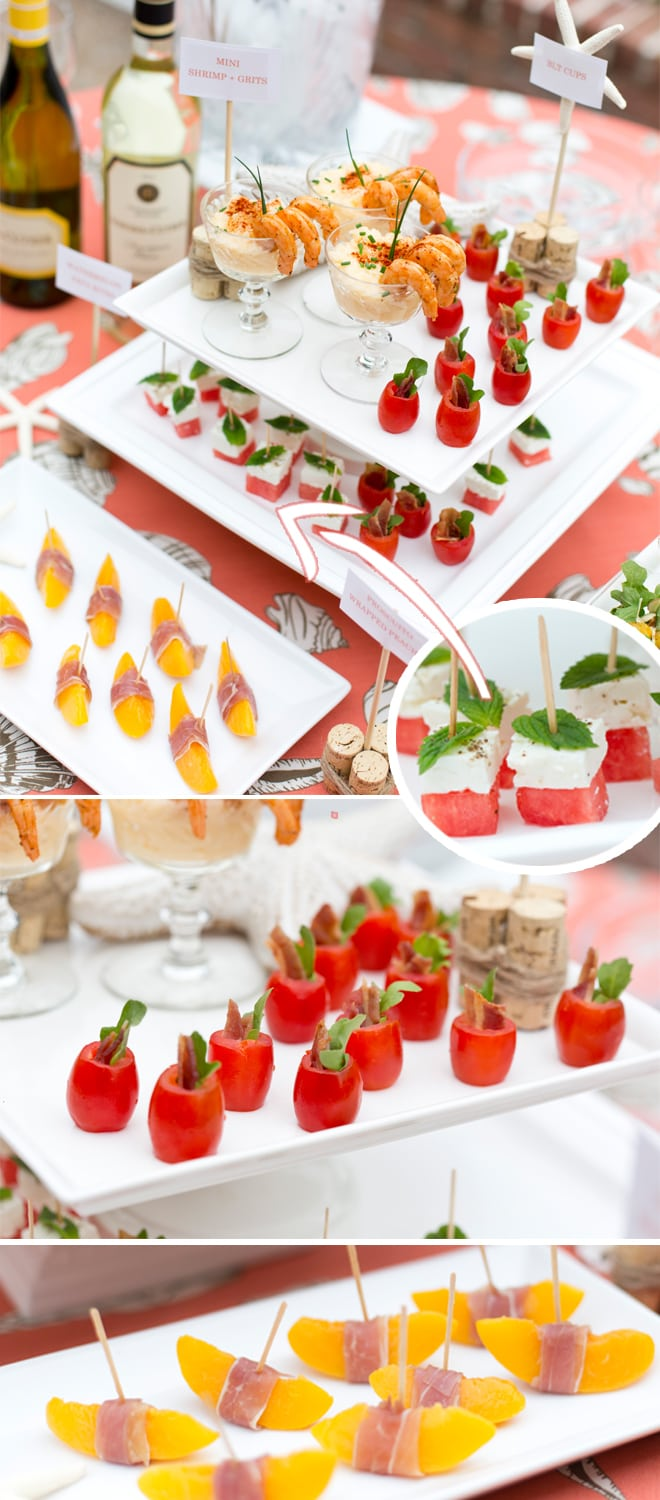Mini Appetizers and Party Foods perfect for any party occasion!