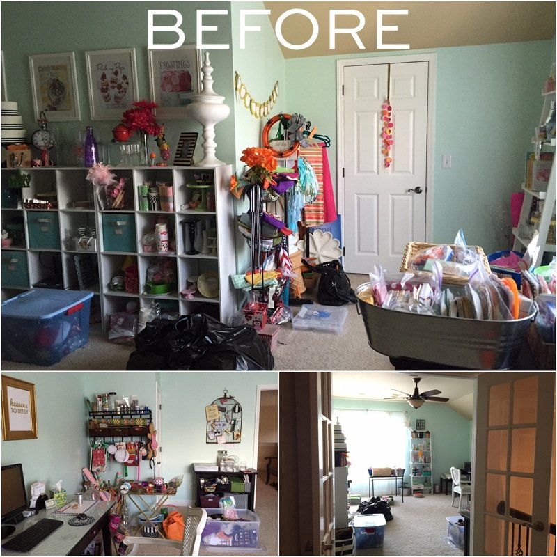BEFORE Photos. See this dream office redone!