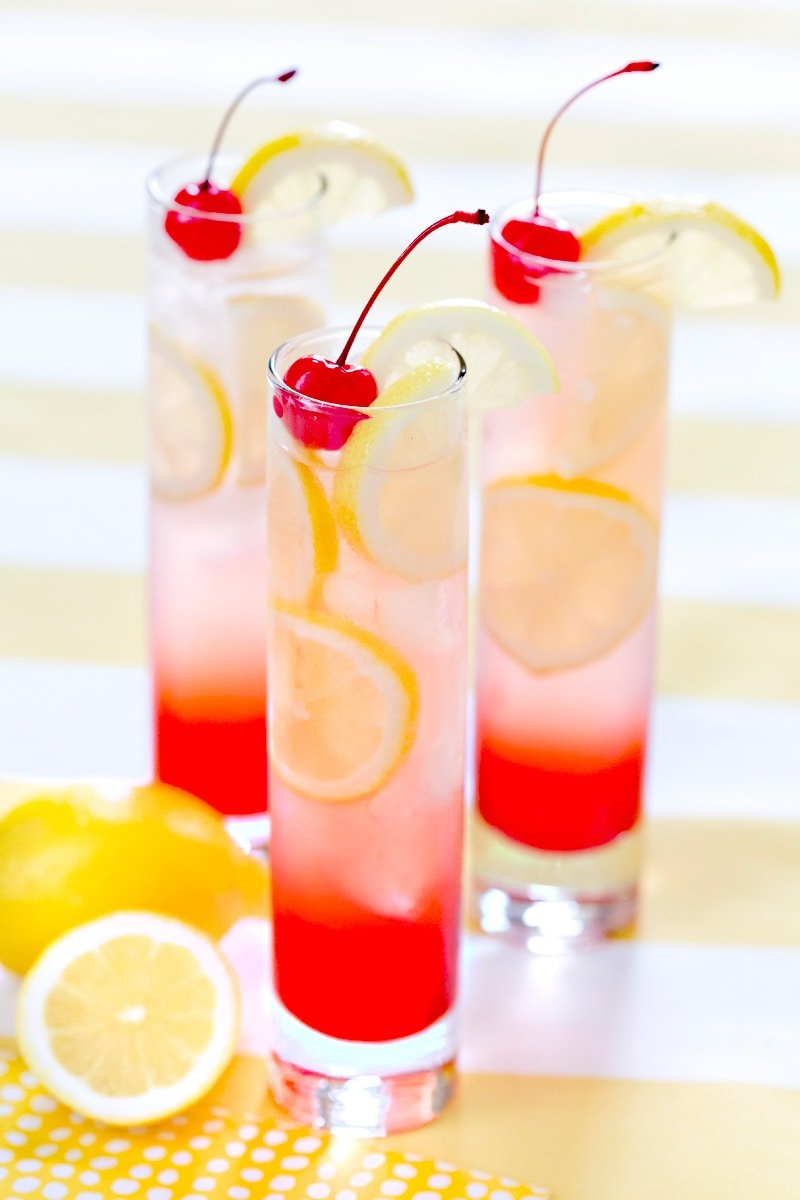 Cherry lemonade drink perfect summer drink pizzazzerie for Drink recipes without alcohol