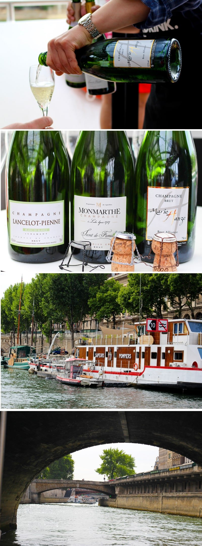 Champagne Cruise on the Seine River in Paris