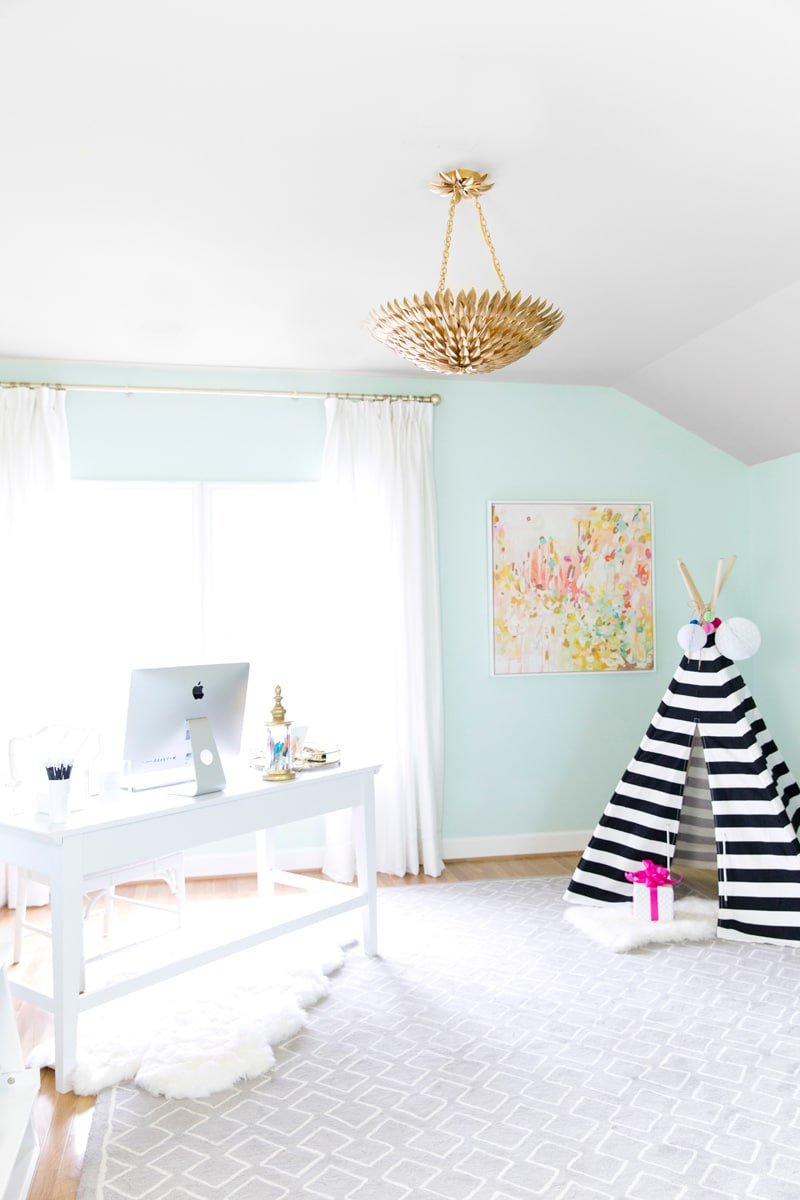 Dream Blog Office, Work from Home Office Inspiration! Pizzazzerie.com