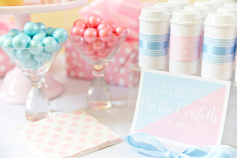 Host a gender reveal party!