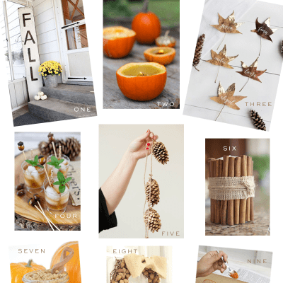 Host a Pinterest-Worthy Fall Craft Party! Tips on food + crafts!