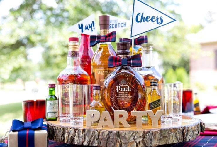 A Dapper Scotch Themed Birthday Party
