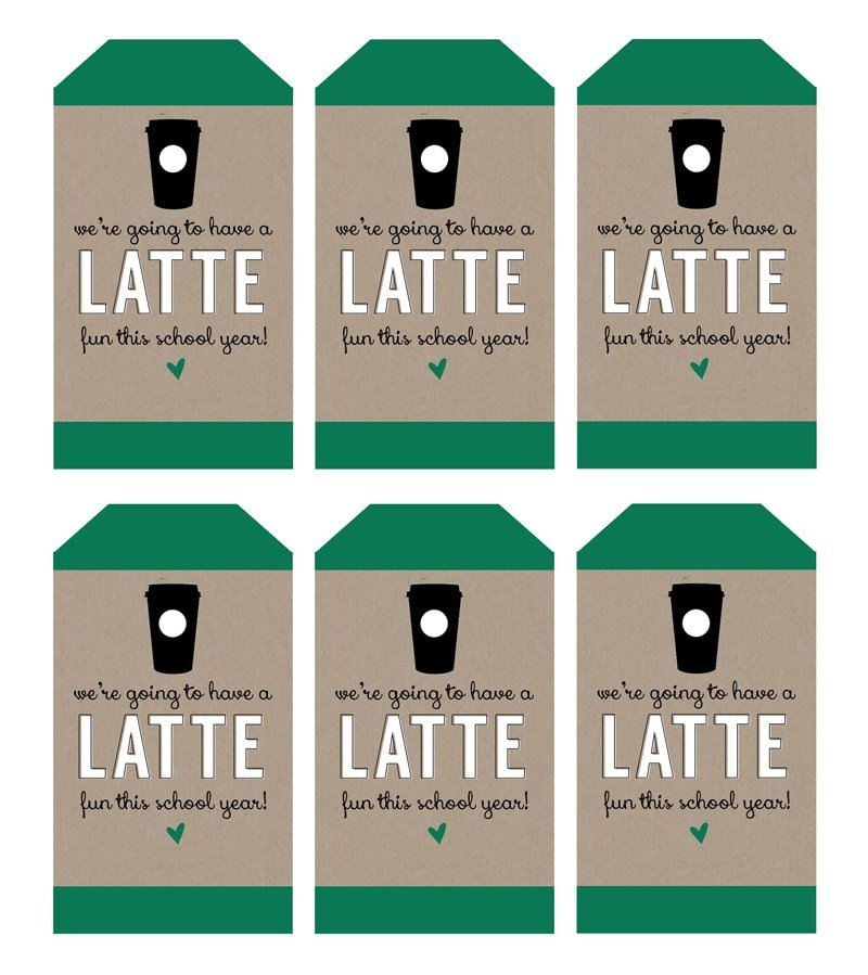 A latte fun teacher gifts for back to school pizzazzerie were going to have a latte fun this year teacher gift for negle Gallery