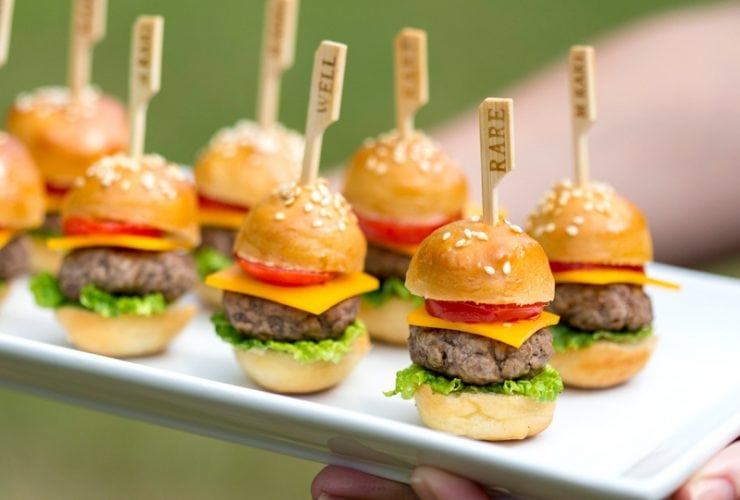 6 Delish Mini Burgers & Sandwiches for Parties!