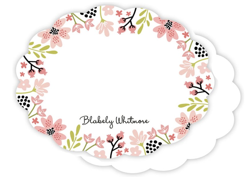 Floral Chic Stationery for Children