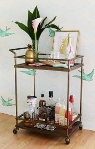 You Are The Pineapple Of My Eye Baby Reveal Bar Cart Style