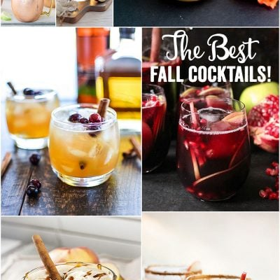 The 9 Best Fall Cocktail Recipes, SO delish!