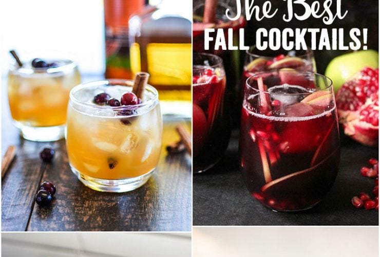 9 Fall Cocktails You Need to Try STAT!