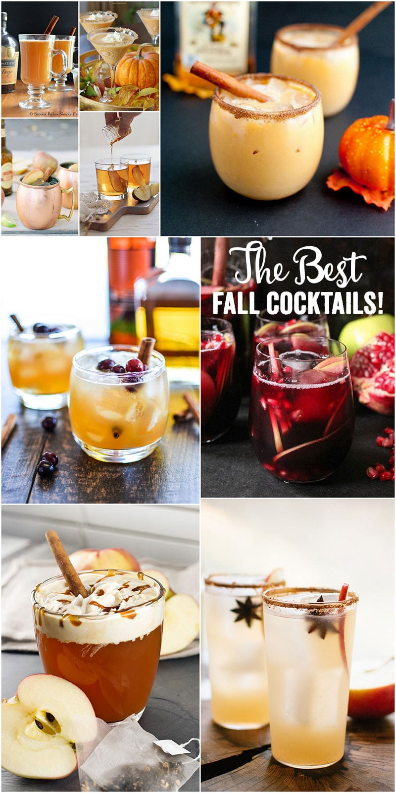 9 fall cocktails you need to try stat pizzazzerie for Fall cocktail ideas