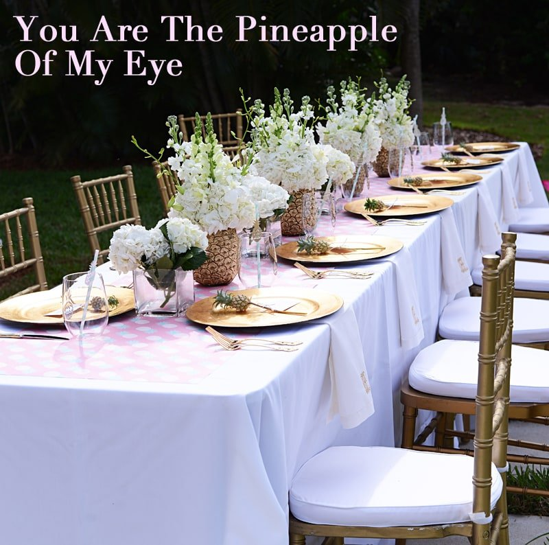You Are The Pineapple Of My Eye Baby Reveal