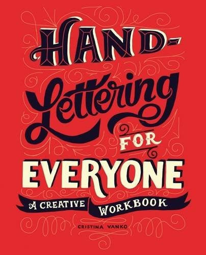 Cutest book on Hand Lettering For Everyone