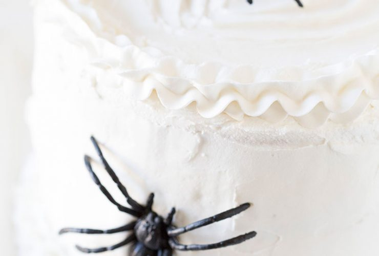 Halloween Spider Surprise Cake