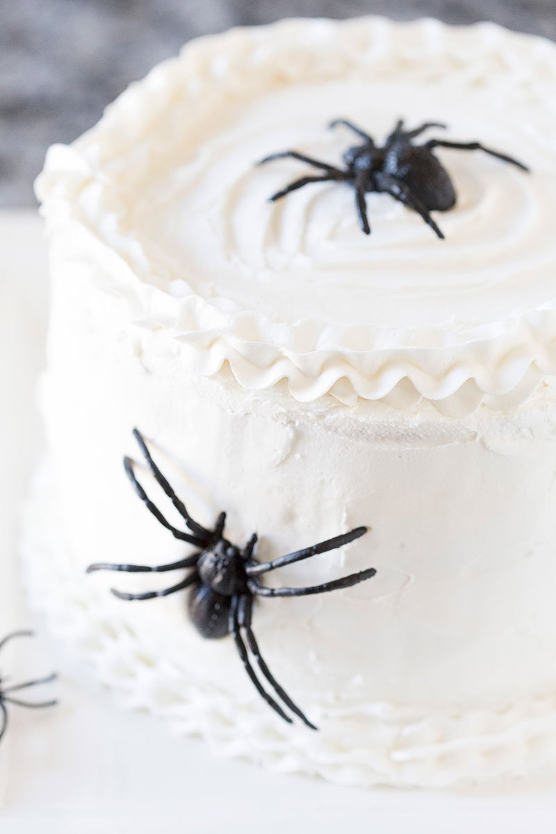 Halloween Spider Cake Diy Tutorial Amp Recipe