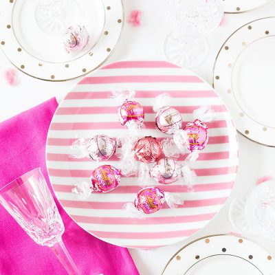 Pink Party with Lindt Chocolate by Pizzazzerie