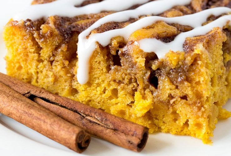 Amazing Pumpkin Cinnamon Roll Cake!
