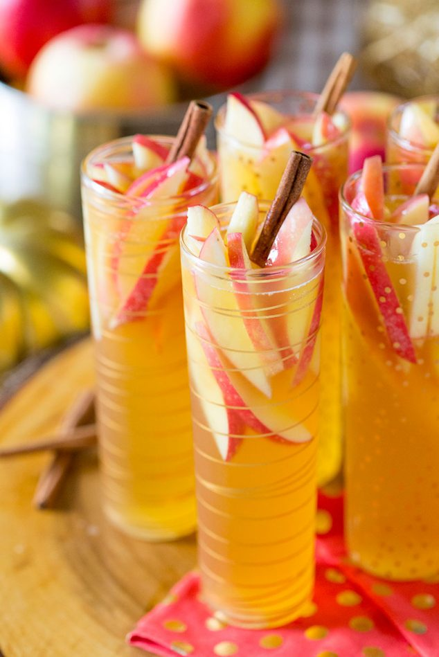 Sparkling Apple Cider Sangria Recipe Easy Amp Delish