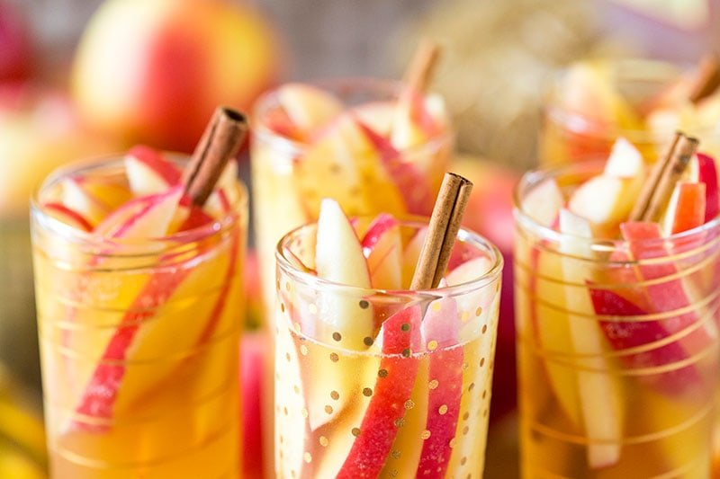 Have you tried this recipe yet?! It's my FAVORITE! Sparkling Apple Cider Sangria!