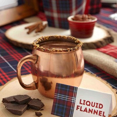 Host a Mad For Plaid Holiday Party and whip up this tasty cocktail!