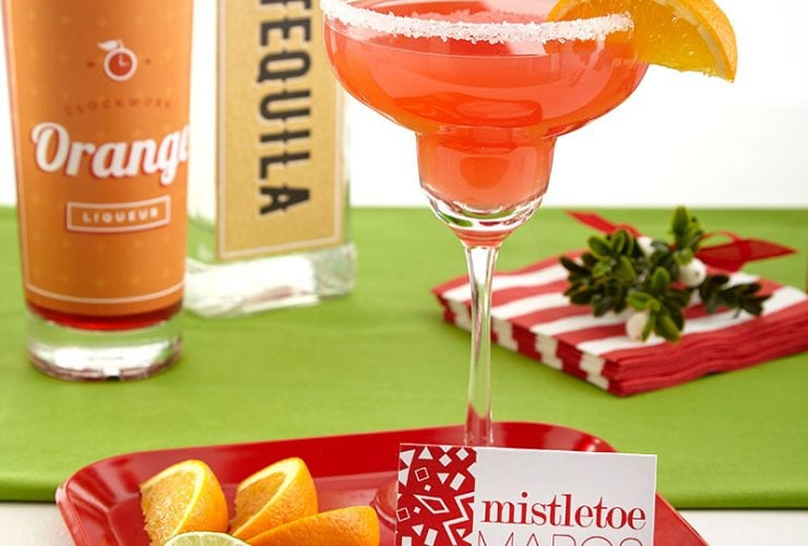 Mistletoe and Margaritas Holiday Party + Free Printables